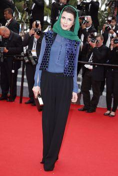 Leila Hatami Festival de Cannes look vestido