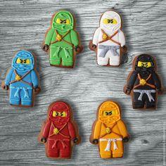 Кулинарные сувениры ручной работы. Пряник Ниндзяго Lego Ninjago. Пряничная студия Пион (peony-cookies). Интернет-магазин Ярмарка Мастеров.