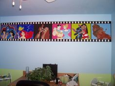 i want to decorate the room disney themed, or winnie the pooh!