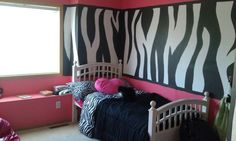 Big girls bedroom paint idea.