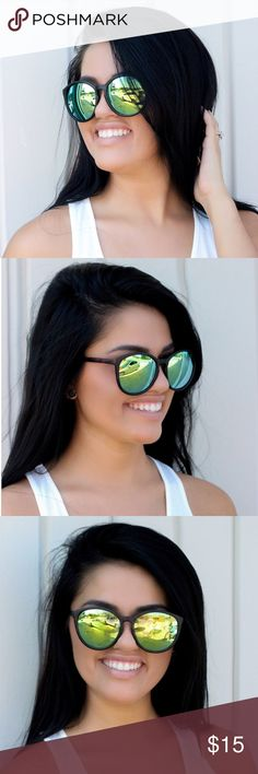 ca76ae553fdb You   Me Sunglasses These tortoise mirrored lightweight sunglasses are a  must have! Accessories Sunglasses