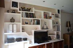 muebles de escayola salon - Buscar con Google