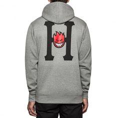 HUF X SPITFIRE Fleece sweat à capuche grey heather 95,00 € #skate #skateboard #skateboarding #streetshop #skateshop @playskateshop