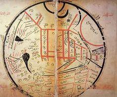 Mongols China and the Silk Road: Mahmud al-Kashgari's(1072) map of the Silk Road ?
