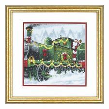 Dimensions D70-08918 Santa Express Christmas Counted Cross Stitch Kit 25 x 25cm