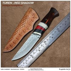 Like and Share if you want this  Damascus Camping Knife - Turen Red Shadow 9.8cm Camping Knife Damascus Merchant    Buy Now at DamascusMerchant.com - FREE Shipping Worldwide    Damascus Camping Knife - Turen Red Shadow 9.8cm Camping Knife Damascus Merchant