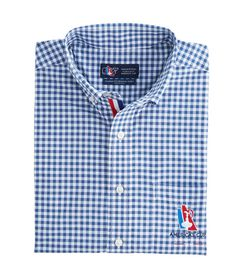 America's Cup Gingham Classic Murray Shirt / Vineyard Vines