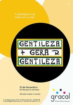 Lfernandes: Anúncio Gracal | 13 de Novemro - Dia Mundial da Ge...