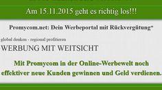 Promycom.net ist ein Werbeportal wo man mit jedem gekauftem Werbepaket am Gesamtumsatz von Promycom.net beteiligt wird. http://profi-marketing-software.de/revshare/promycom/info/?p=111900278