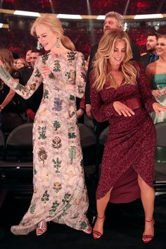 Few Things Are Cuter Than Nicole Kidman and Faith Hill Dancing Together at the ACMs
