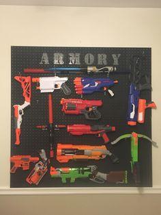Nerf Gun Storage-- Armory