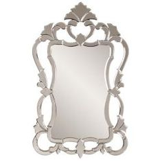 @Overstock - Add a stylish touch to your home decor with this Contessa mirror. This silvertone mirror features a venetian design.   http://www.overstock.com/Home-Garden/Contessa-Mirror/6765750/product.html?CID=214117 $200.99