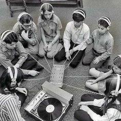 Before cds,cassete tapes, internet & bluetooths..  Wdsta1