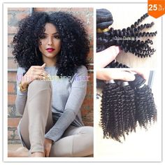 I found some amazing stuff, open it to learn more! Don't wait:https://m.dhgate.com/product/charming-hair-weaving-curly-brazilian-afro/246300300.html