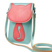 Best price Cartoon Women bag handbag messenger Shoulder pouch bolsa feminina Satchel Crossbody leather Coin Clutch(China)