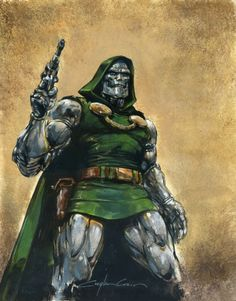 Magneto, Doctor Doom, The Avengers, and Ghost Rider by Clayton Crain * Dr Doom Marvel, Marvel Comics Art, Evil Villains, Marvel Villains, Marvel Comic Character, Marvel Characters, Ghost Rider, Fantastic Four Villains, Spiderman