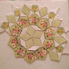 Resultado de imagen para english paper piecing patterns