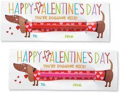 kids valentine cards dachshund on Current.com