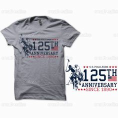 share share #USPA125 U.S. Polo Assn. Merchandise Graphic by bevalligART on CreativeAllies.com
