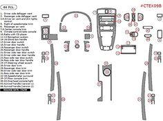 WOW Trim CTEX09B-RBA Chevrolet Equinox Full Kit, 44 Pcs., ABS Plastic Brushed Aluminum  http://www.productsforautomotive.com/wow-trim-ctex09b-rba-chevrolet-equinox-full-kit-44-pcs-abs-plastic-brushed-aluminum/