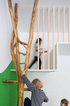 Kinderkrippe Möbel Design-modern Baukind-Innenausbau modern