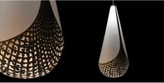 David Trubridge - Baskets light fixture