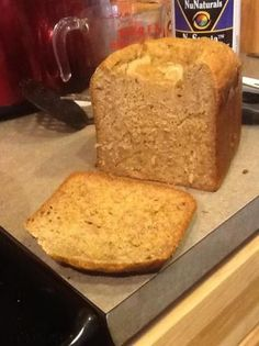 Banana Almond Bread in a Bread Machine (Clean)
