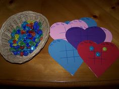 Simple heart game for your little ones