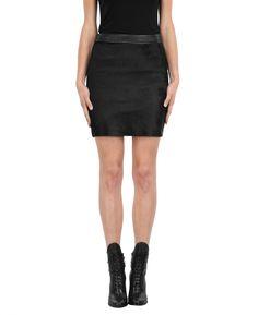 RUDSAK Vêtements (NOIR, CUIR AVEC EFFET« PULL-UP », POILS DE PONEY)   CELESTE
