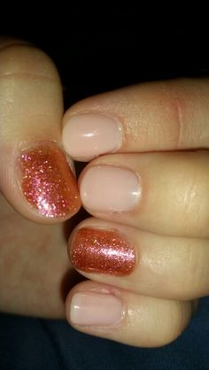 """Sally Hansen Salon Gel Polish Kit -- """"Shell We Dance"""" and """"Lady Luster"""" -- This is the second time I used this kit. I'm in love with it!"""