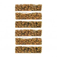 Department 56 Stone Wall - Set of 6