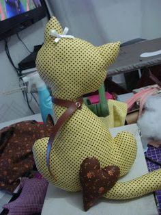 Eu costuro , você costura: PAP de almofada de gatinho-EDITADO- ENCERRADO