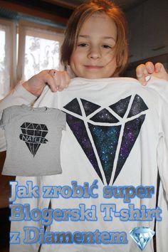 Jak zrobić blogerski t-shirt z Diamentem - Nati_Ps,  DIY