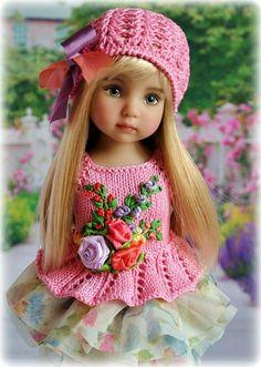 Crochet Doll Clothes, Knitted Dolls, Crochet Dolls, Crochet Baby, Cute Baby Dolls, Reborn Baby Dolls, Beautiful Barbie Dolls, Pretty Dolls, Effanbee Dolls