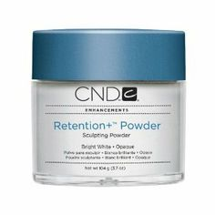 Creative Nail Retention Powder False Nails, Bright White, 32 Ounce by Creative Nail. $227.21. Designed with varied structural points for strength and flexibility. Full contact area and C curve. True, translucent color. For gorgeous, long lasting, lift resistant nail enhancements. Rentention Powders are durable and dazzling, going beyond the acrylic nail powders and acrylic liquids you may have experienced before. With superior adhesion and a flawless finish, Rete...