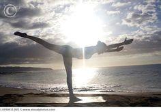 Warrior 3 - my favorite yoga pose