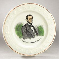 Lincoln alphabet plate