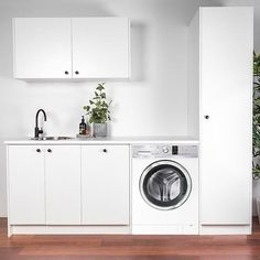 Laundry in a Box - Core Edition, Option Two Laundry Cupboards, Style B, Core, Laundry in a Box – The Blue Space Online Laundry, Ikea Laundry, Laundry Cupboard, Laundry Cabinets, Small Laundry Rooms, Laundry Room Storage, Laundry Hamper, Cupboard Storage, Laundry In Bathroom