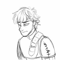 2D animation of Hiccup crying. So sad, but great animation