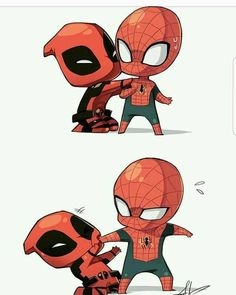 "2,282 Likes, 7 Comments - Hey I'm Jay  (@jay.official.page) on Instagram: ""Lol #spidey #deadpool"""