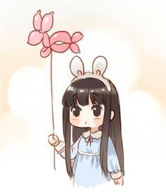 0114c Kawaii Chibi, Cute Chibi, Anime Kawaii, Kawaii Cute, Kawaii Girl, Kawaii Drawings, Cute Drawings, Character Drawing, Character Design