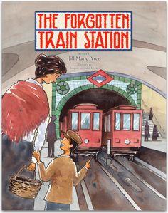 The Forgotten Train Station New Children's Books, Great Books, Madrid Metro, Metro Station, Family Outing, Young Boys, Train Station, Childrens Books, The Help
