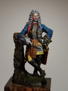 Jason Whitman's Historical Minutia-54mm figurine of Louis William, Margrave of Baden