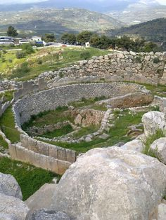 Mycene Mycenaean, Minoan, Places Ive Been, Places To Go, Ancient Greece, Homeland, Temples, Archaeology, Building