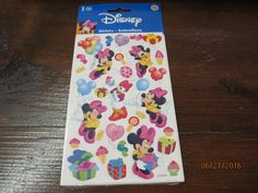Vintage Sandylion Stickers New Mint in package You Choose Minnie Mouse Mickey Mouse Looney Tunes or Princess Unicorn by EvenTheKitchenSinkOH on Etsy