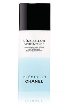 CHANEL DÉMAQUILLANT YEUX INTENSE GENTLE BIPHASE EYE MAKEUP REMOVER available at #Nordstrom