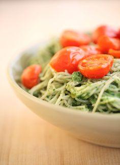 ... about Pasta on Pinterest | Tagliatelle, Brown rice and Kale pesto