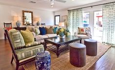 Interior Design Furniture, Residential Interior Design, Custom Window Treatments, Home Furnishings - Interiors