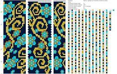 18 around tubular bead crochet rope pattern