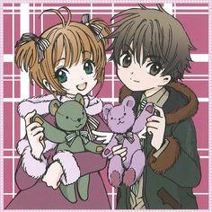 CLAMP - Card Captor Sakura At that time, there was no couple cuter than Syaoran and Sakura Cardcaptor Sakura Clear Card, Sakura Card Captors, Sakura Kinomoto, Syaoran, Sakura Sakura, Manga Anime, Otaku, Xxxholic, Fanart